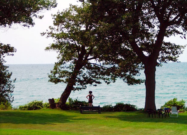 Yoga by Lake Ontario