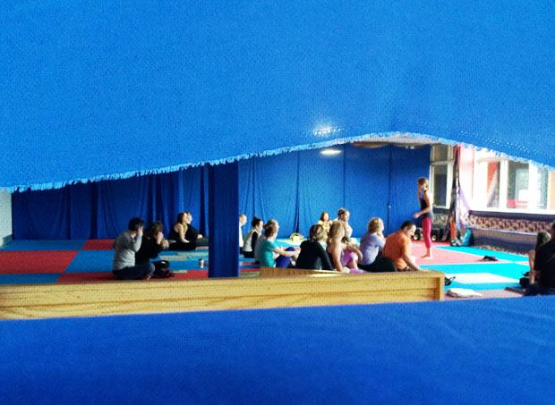 Ahimsa Yoga & Music Festival 2014 - Coby Kozlowski's class