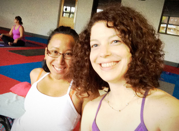 Ahimsa Yoga & Music Festival 2014 - Yoga buddies