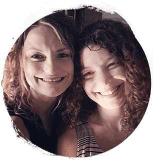 Sisters and teachers: Natalie and Raeanne Wright
