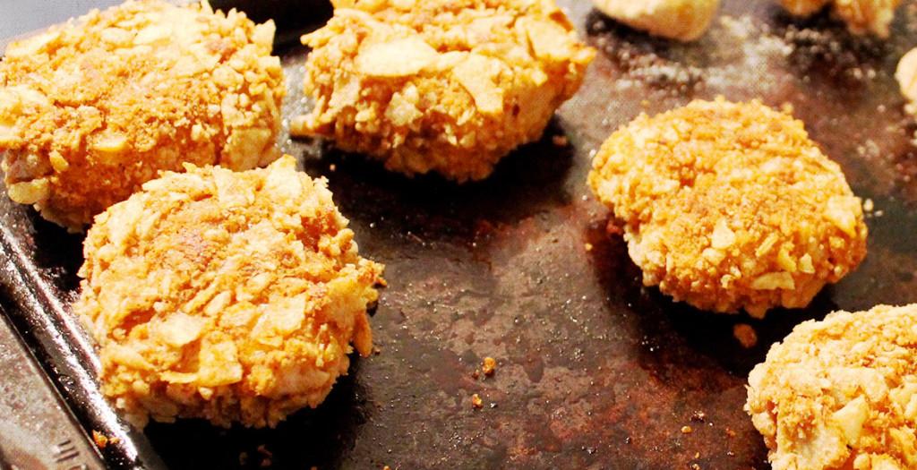 Vegan Crispy Crunchy Fried Chicken recipe by Kate Glenn
