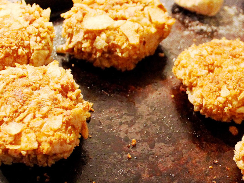 Vegan Crispy Crunchy Fried Chicken recipe by Kate Glenn