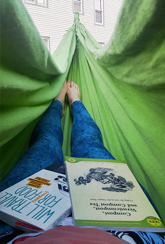 hammock reading