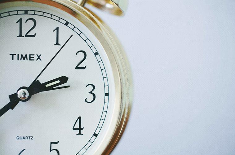 clock - no time for yoga