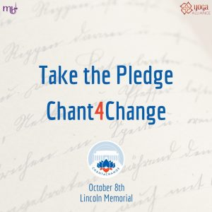 Take the Pledge, Chant 4 Change