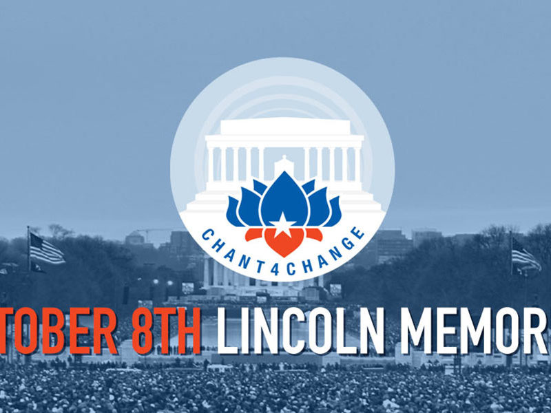 Chant4Change at the Lincoln Memorial Oct 8 2016