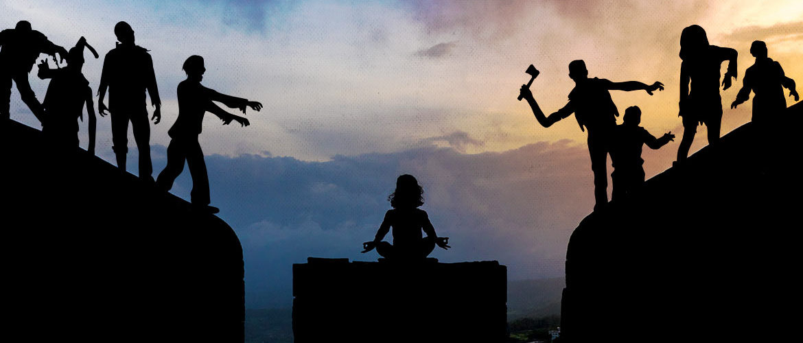 9 Reasons Yogis would Survive a Zombie Apocalypse