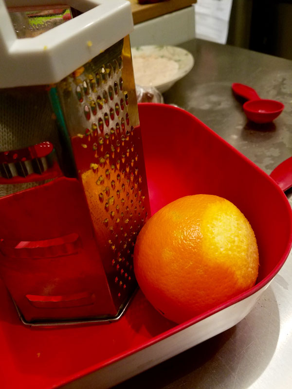 Vegan Panettone: Orange Zest