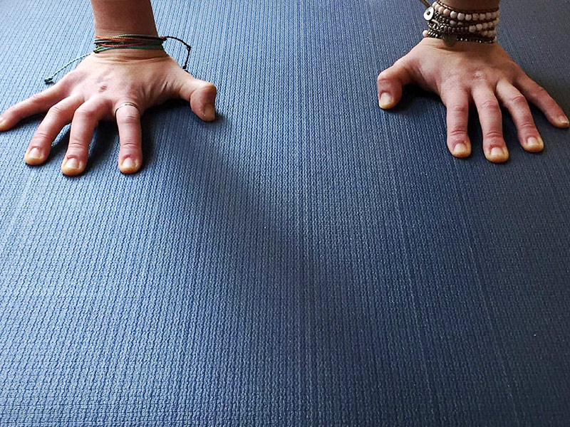 find your yoga mat