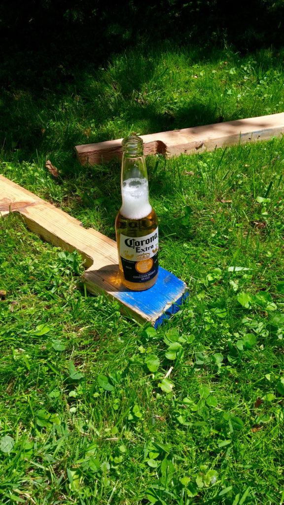 Gardening and beer