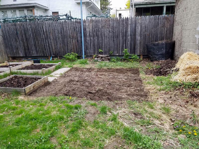 Gardening patch dig