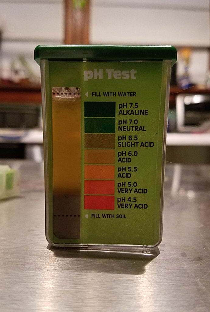 Soil PH Test