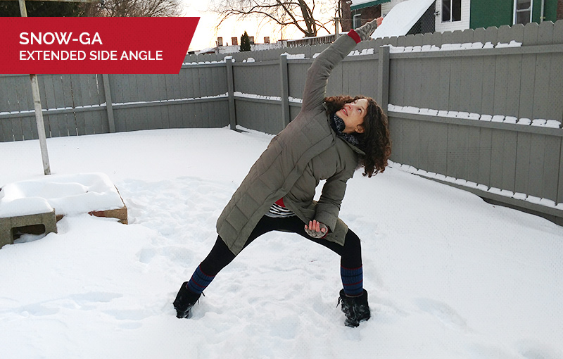 Snowga: Extended Side Angle